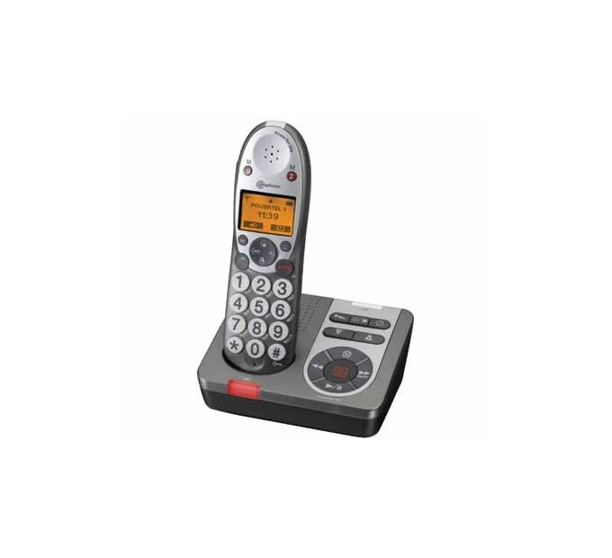 Amplicom PowerTel 580 DECT Phone with Answering Machine