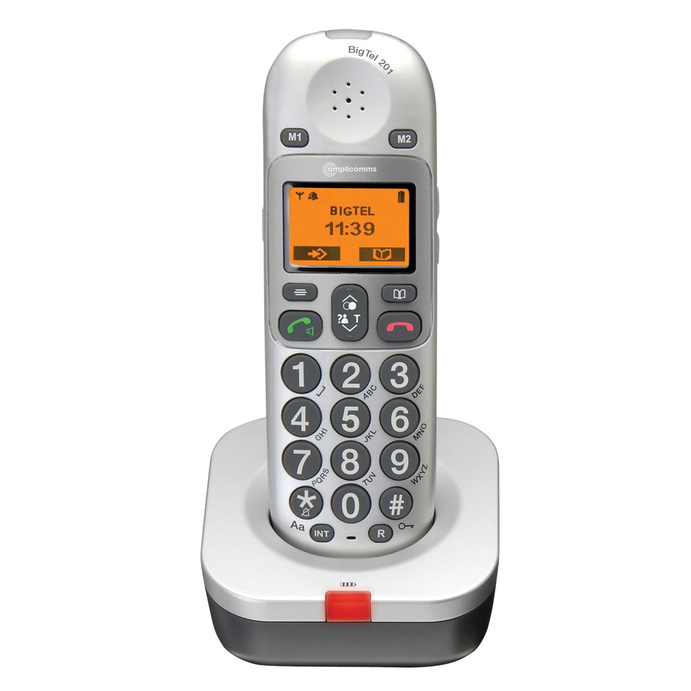 Amplicomms BigTel 200 Amplified DECT Cordless Telephone