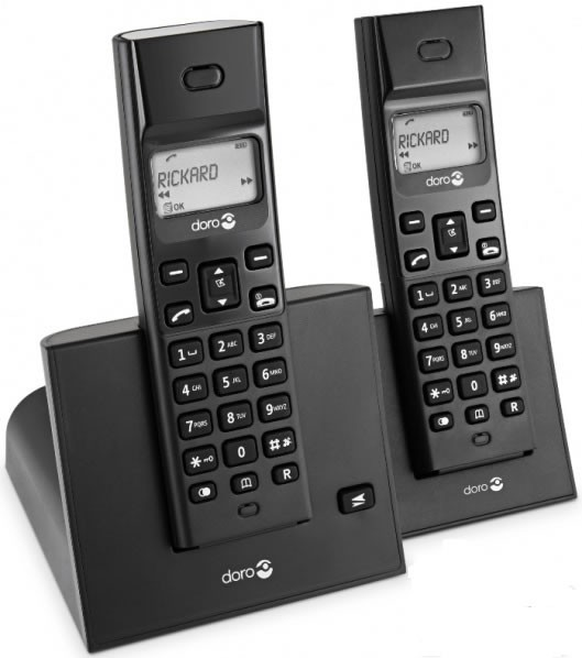 Doro Arc 3+1 Twin Pack DECT Cordless Phones