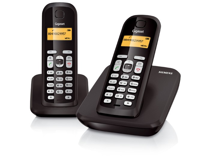 Gigaset AS300 DECT Cordless Phone - Twin Pack