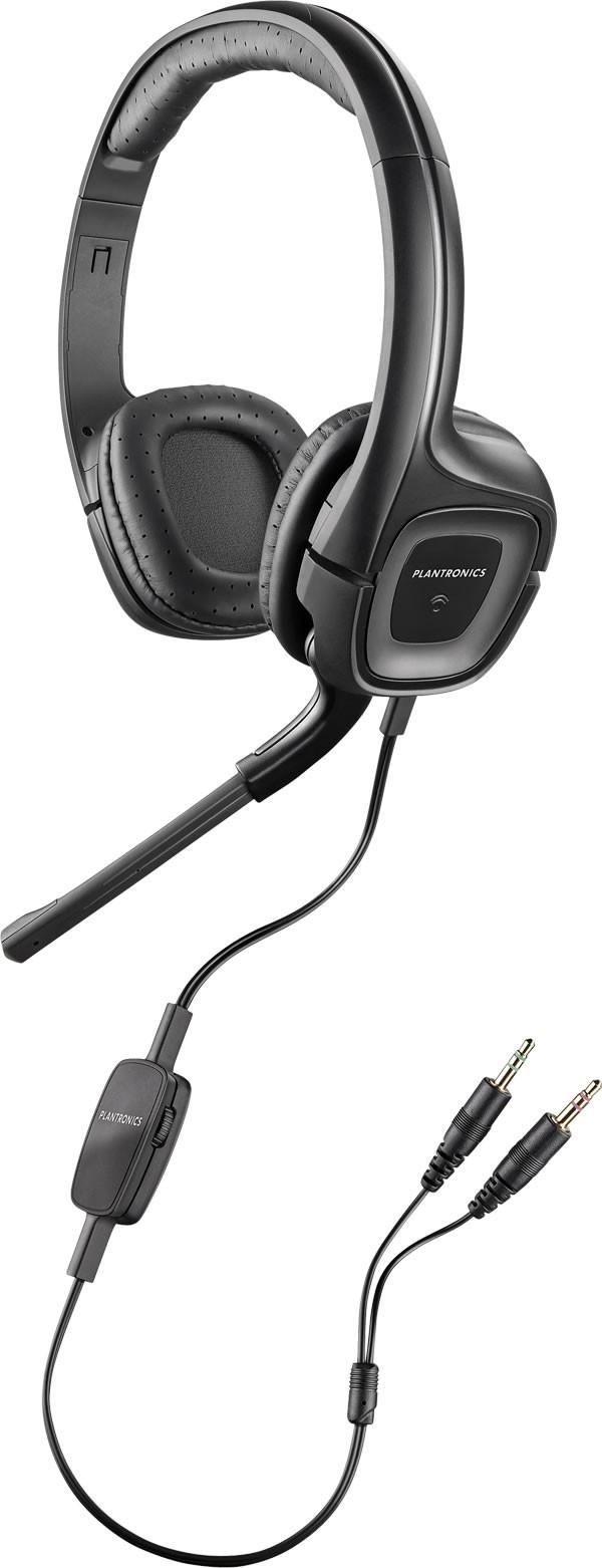 Plantronics .Audio 355 Computer Headset With 3.5mm Audio Jack