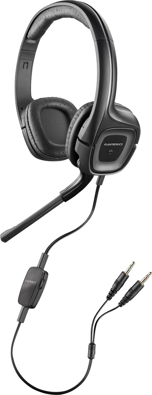 Plantronics .Audio 355 Computer Headset With 3.5mm Audio Jack and PC Game Bundle (Perry Rhodan)