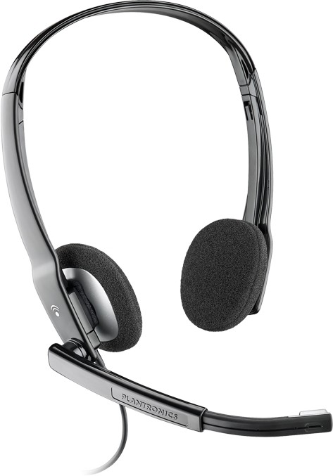 Plantronics .Audio 630M USB Computer Headset