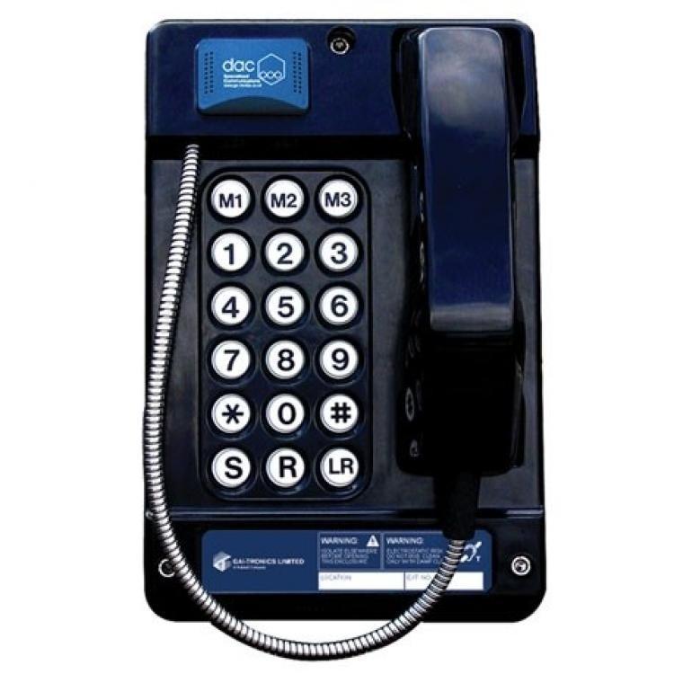 Gai-Tronics Auteldac 4 Vandal And Environment Resistant Telephone 18 Button - Steel Cord