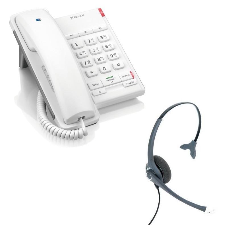 BT Converse 2100 Corded Telephone Black
