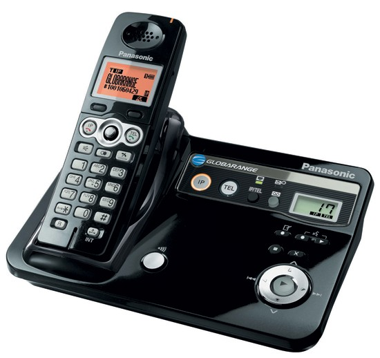 Panasonic Globarange Dual Land and VOIP Cordless Phone BB-GT1520E