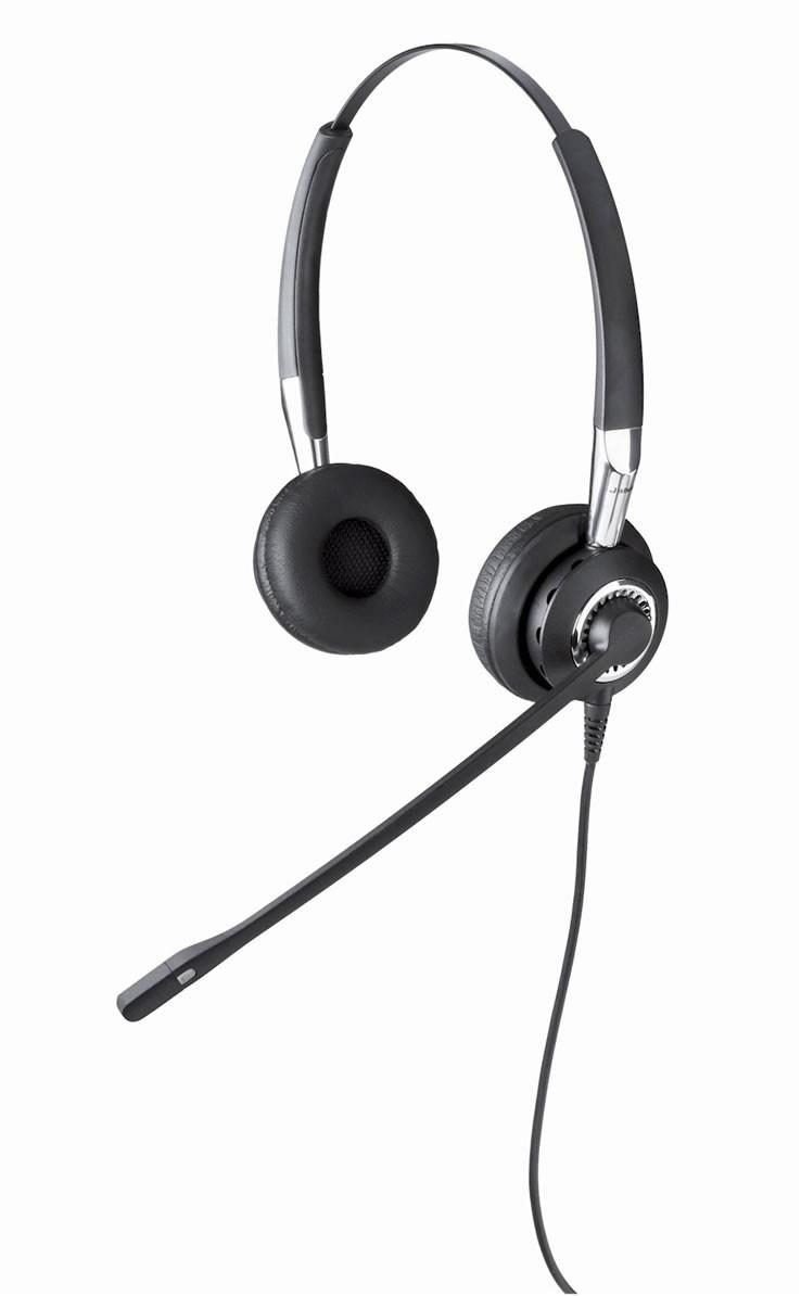 Jabra BIZ 2400 Duo Noise Cancelling Office Headset