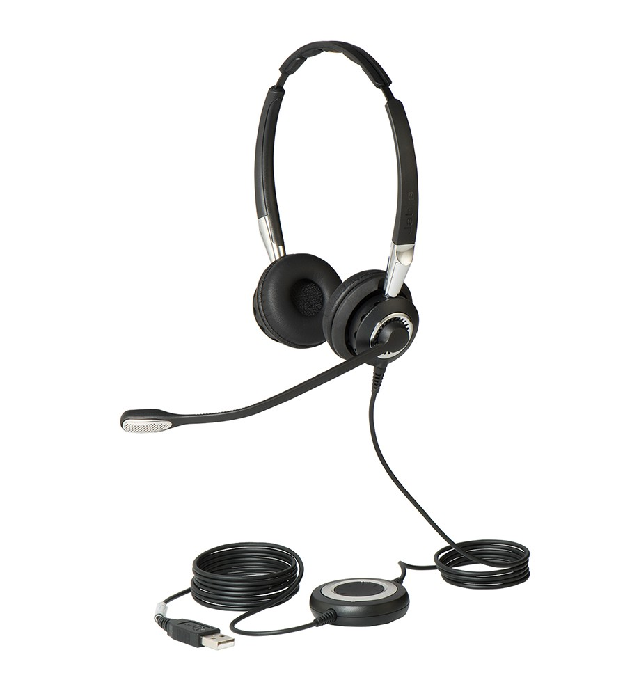 Jabra Biz 2400 Binaural USB Bluetooth Headset