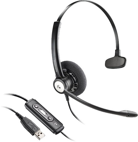 Plantronics Blackwire C610/A USB Monaural Noise Cancelling Headset