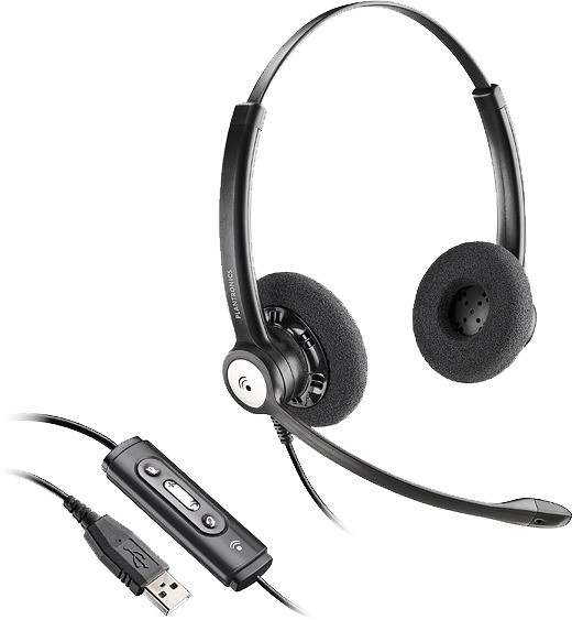 Plantronics Blackwire C620/M USB Binaural Noise Cancelling Headset