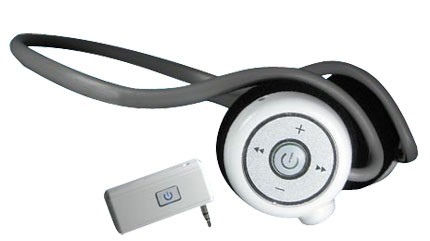 Blue Next Bluetooth Stereo Headset and Adapter