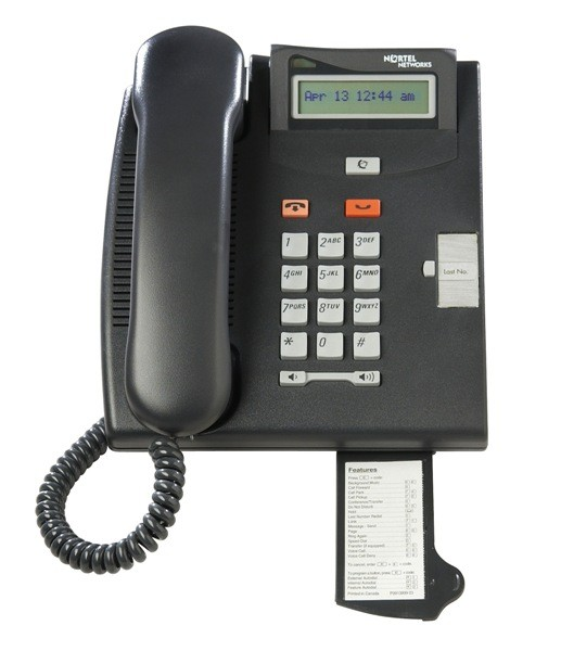 Meridian Norstar T7100 Phone - Charcoal