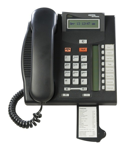 Meridian Norstar T7208 System Phone - Charcoal