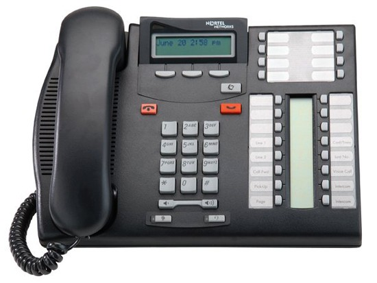 Meridian Norstar T7316 System Telephone - Charcoal