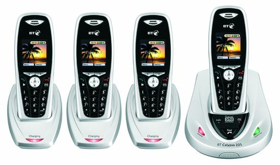 BT Calypso 225 Quad DECT with Answering Machine