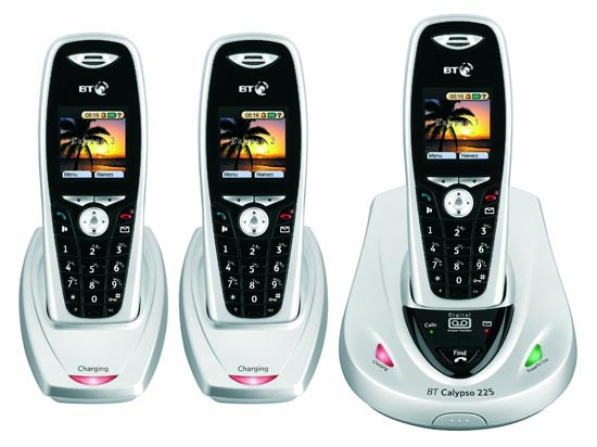 BT Calypso 225 Triple DECT with Answering Machine