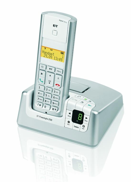 BT Freestyle 250 DECT with answering machine