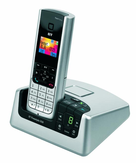 BT Freestyle 350 DECT with Answering Machine