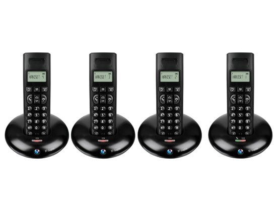 BT Graphite 1100 DECT Quad Cordless Phone