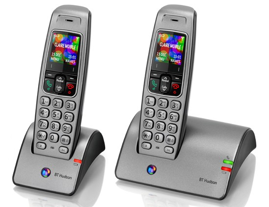 BT Hudson 1100 Cordless Phone - Twin Pack