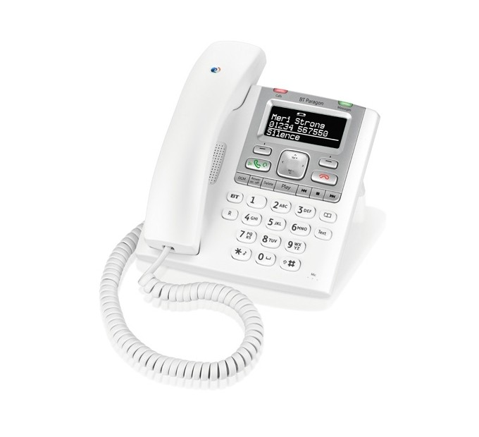 BT Paragon 550 - Corded Phone With Answering Machine
