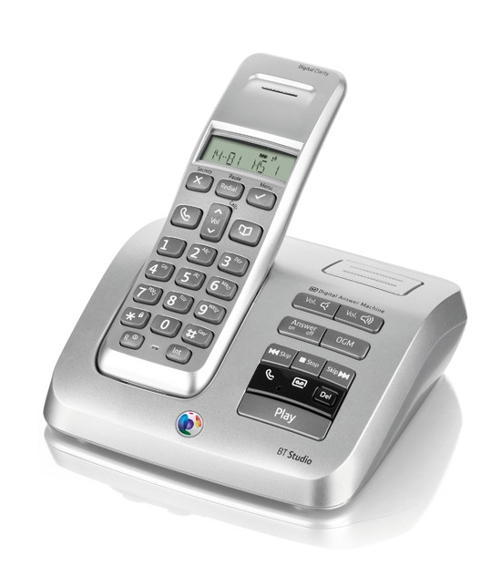 BT Studio 3500 single DECT Cordless Phone with Answering Machine