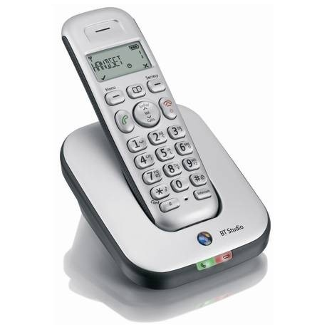 BT Studio 4100 Plus Cordless DECT Phone - Single