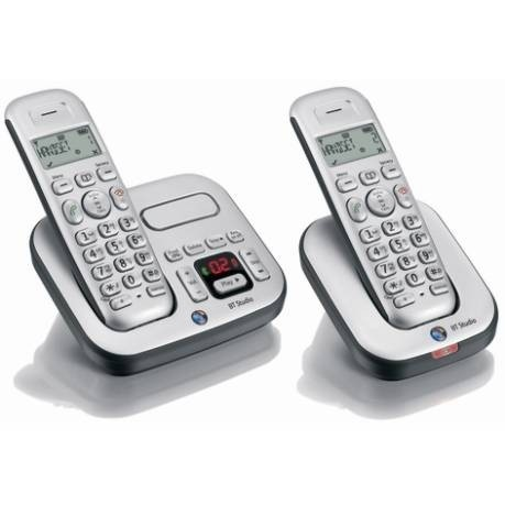 BT Studio 4500 Cordless Phone - Twin