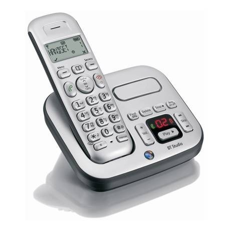 BT Studio 4500 Plus Cordless Phone - Single