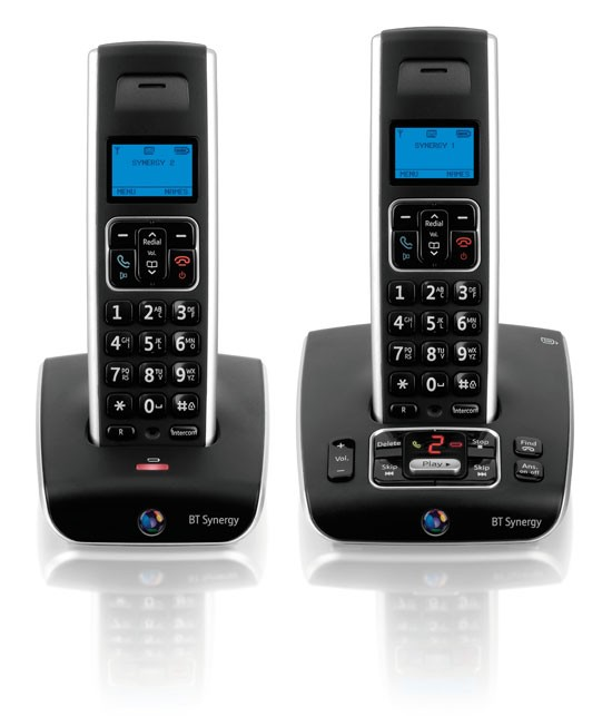 BT Synergy 5500 Twin Cordless Phone & Answering Machine