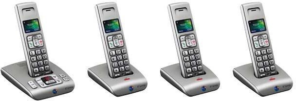 BT Synergy 6500 DECT Cordless Phone - Quad Pack
