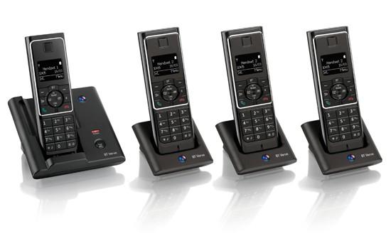 BT Verve 410 DECT Quad Cordless Phone