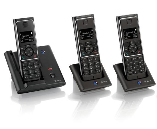 BT Verve 410 DECT Triple Cordless Phone