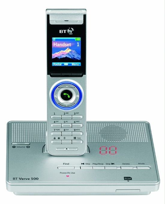 BT Verve 500 DECT with Answering Machine - Silver