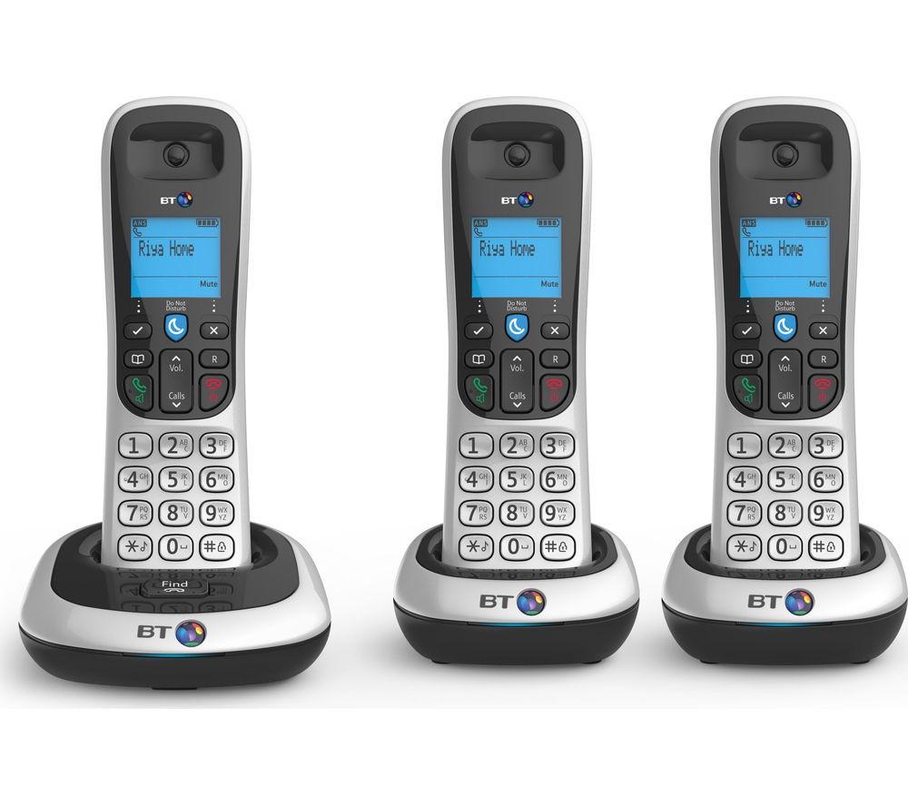 BT 2100 DECT Cordless Phone - Triple
