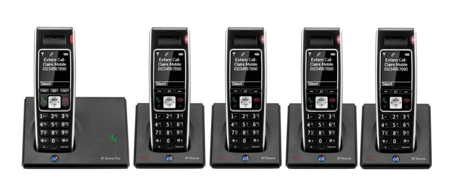 BT Diverse 7410 Plus DECT Cordless Phone
