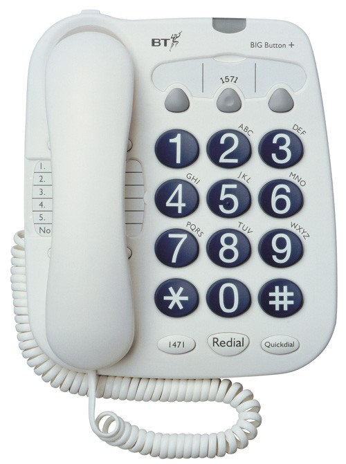 BT Big Button 100 Corded Telephone