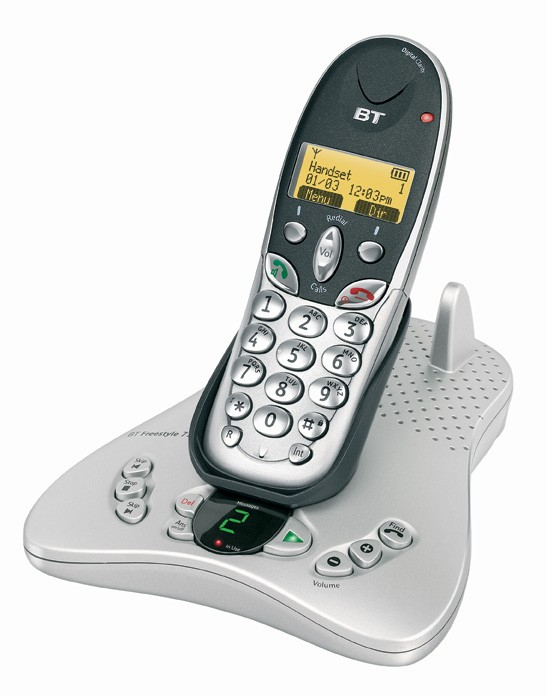 BT Freestyle 7150 Triple Dect Answering Machine