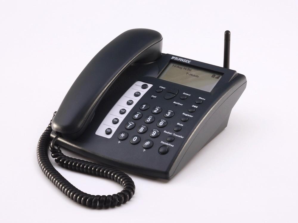 Burnside P355 GSM Mobile Desk Phone - Black