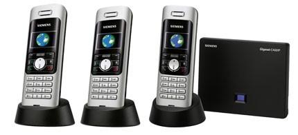 Siemens Gigaset C460 IP Dual Landline & VoIP phone Triple Pack