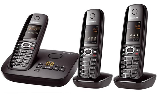 Siemens Gigaset C595 Cordless Telephone Triple Pack