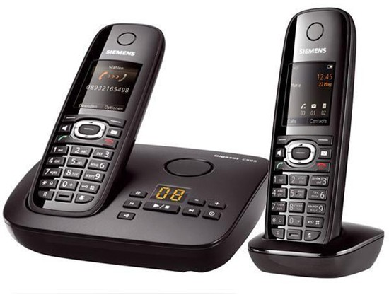 Siemens Gigaset C595 Cordless Telephone Twin Pack