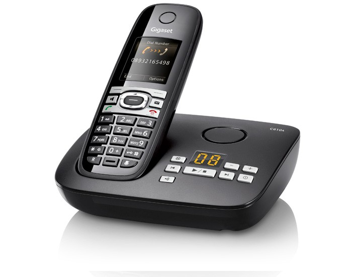 Gigaset C610A Cordless Phone With Answering Machine