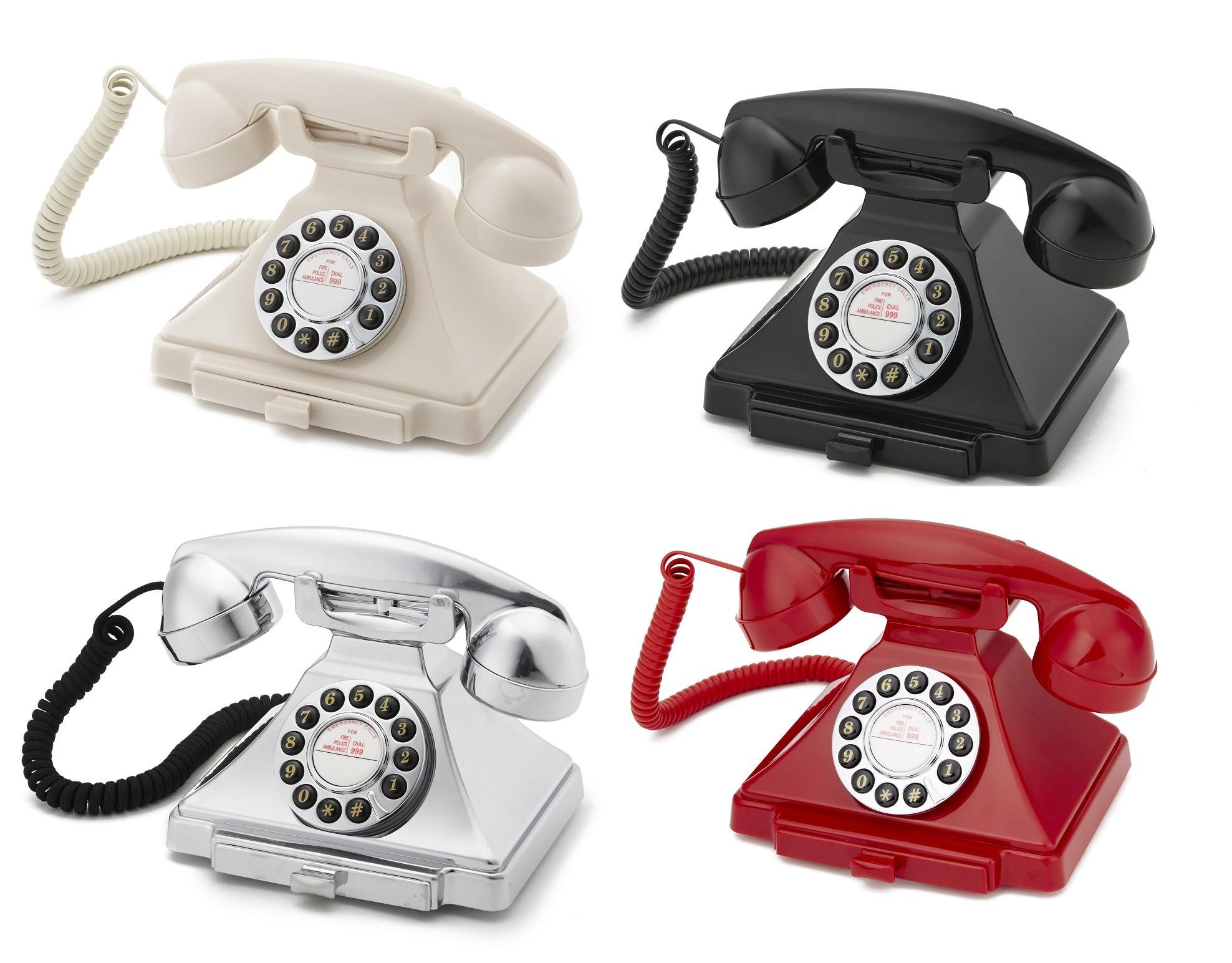 Classical GPO 1929S Carrington Push Button Telephone