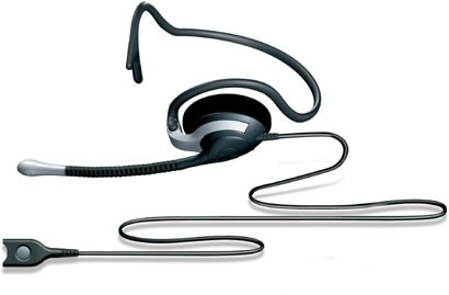 Sennheiser SH 333 Monaural Office Headset (Neckband Version) (Including FREE Connection Lead)