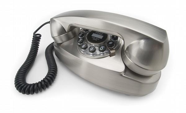 Henry Dreyfuss 1950's Princess Phone - Chrome