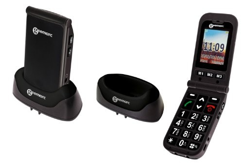 Geemarc CL8400 Amplified Clamshell Mobile Phone