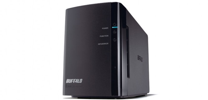 Buffalo LinkStation™ Duo 8TB High Performance Network Storage Drive