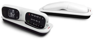 MagicBox Colombo Twin DECT Cordless Phone