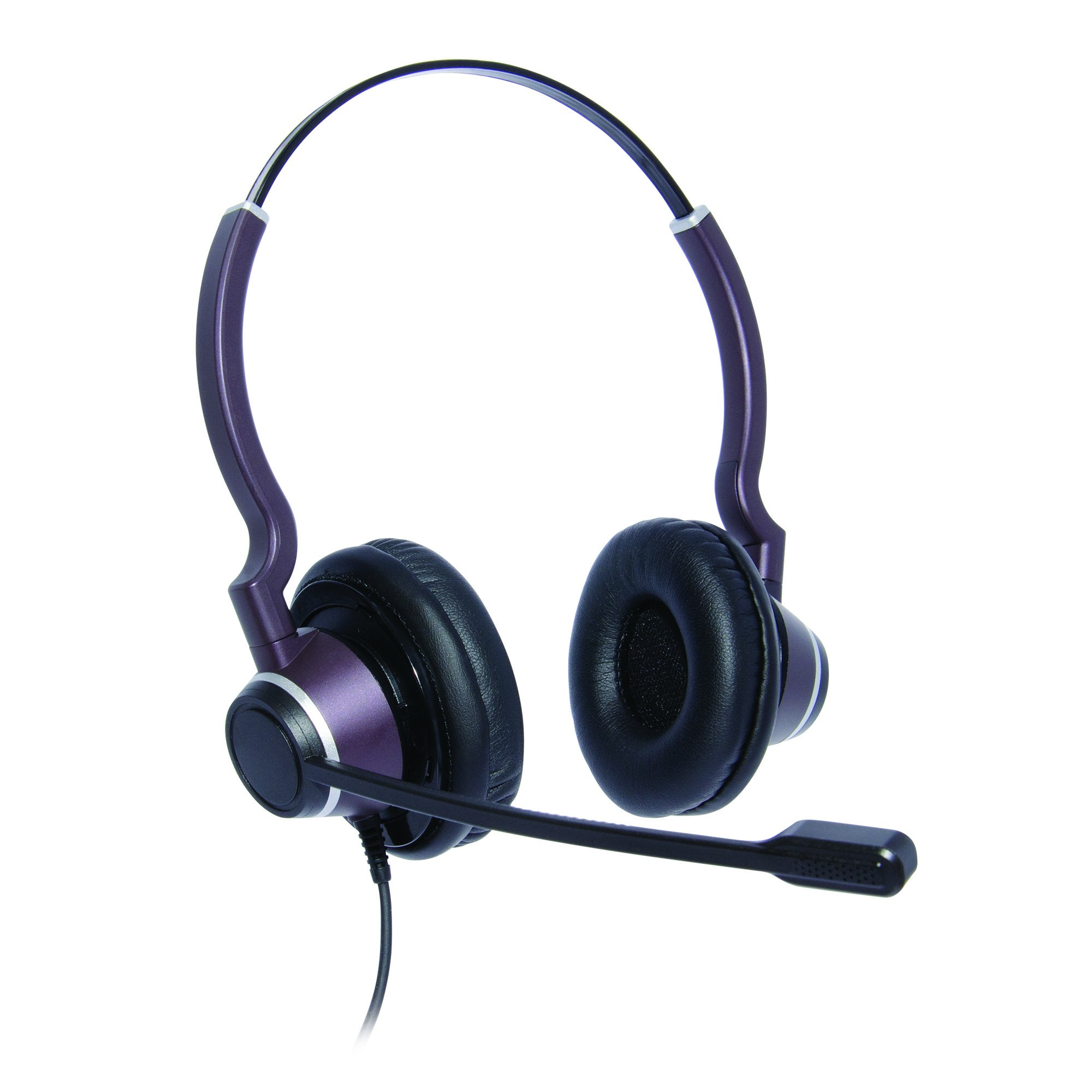 Polycom Soundpoint VVX 201 Binaural Ultra Noise Cancelling Contact Centre Headset